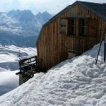Le refuge d'hiver Albert 1er