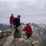 Au sommet du Pic de Neige Cordier (3613m)