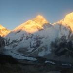Derniers rayons sur l'Everest