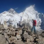 Au sommet du Kalapathar